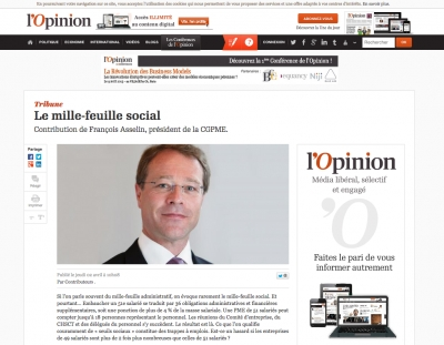 mille-feuille social - l'Opinion